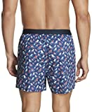 Tommy Hilfiger Men's Underwear Woven Boxers, Berry, Large