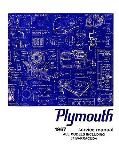 1967 Plymouth Shop Service Manual Hemi GTX Satellite Sport Fury Valiant Signet 1967 Plymouth Gtx Hemi