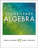 Elementary Algebra (Available 2011 Titles Enhanced Web Assign)