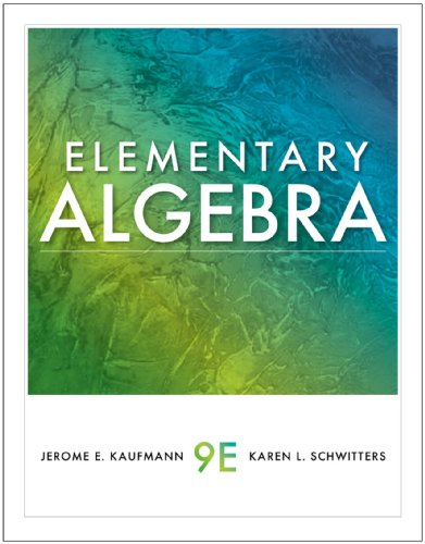 Download Elementary Algebra (Available 2011 Titles Enhanced Web Assign) Pdf
