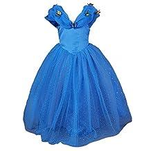 Pettigirl Girls Costume Butterfly Halloween Cosplay Party Princess Fancy Dress 3-9Y