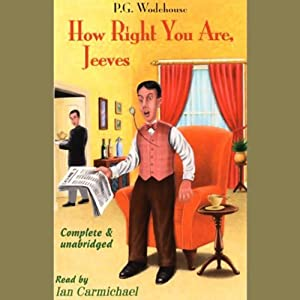 How Right You Are, Jeeves Audiobook