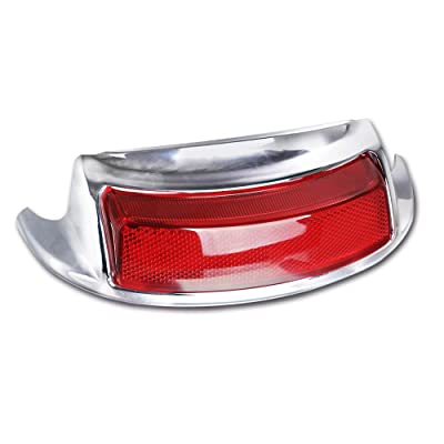 NTHREEAUTO Rear Fender Tip Lights, LED Turn Signal Brake Taillight Compatible with Harley Road King, Electra Road Glide, Ultra Classic, FLHTC, FLHTCU, FLHTCUL, FLHTK, FLHTKL and FLTRU: Automotive