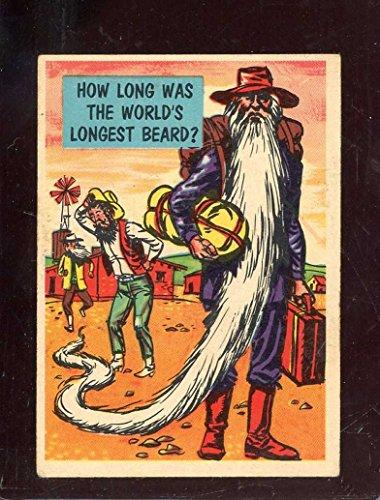 1957 ISOLATION BOOTH #86 WORLDS LONGEST BEARD VG CREASES *A4921 (Longest Beard)