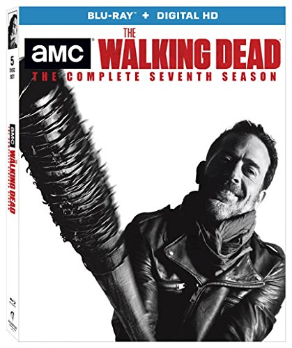 Blu-ray : The Walking Dead: The Complete Seventh Season (Boxed Set, Ultraviolet Digital Copy, 5 Disc)