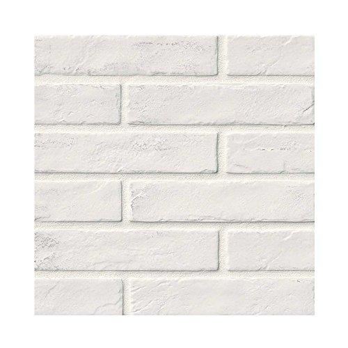 CAPELLA WHITE BRICK TILE PORCELAIN 2 in. X 10 in. 32 Pieces Per Box