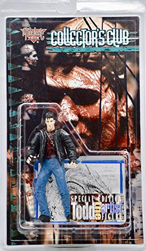 (1998 - McFarlane Toys - Collector's Club - Special Edition - Todd the Artist Figure - 6 Inches - w/McFarlane Card Inside - Rare -)