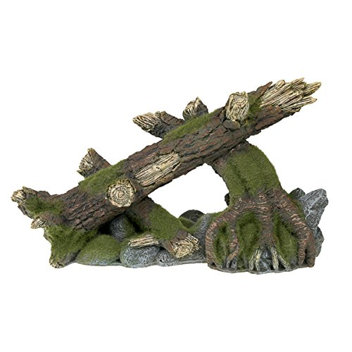 Blue Ribbon EE-1125 Moss Covered Roots and Logs Exotic Environments Aquarium Ornament