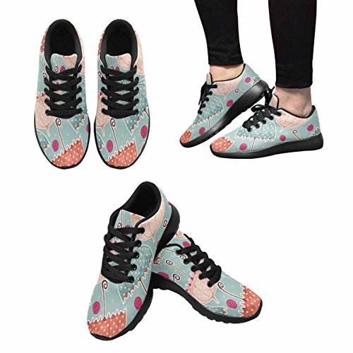 Sneaker Easy Jogging Running De Marche Interestprint Poids Avec Des x1ZnS1A