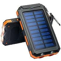 Solar Charger, Frolk Solar Power Bank 10...