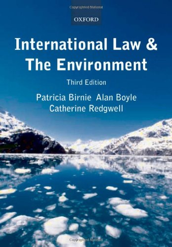 International Law and the Environment by Oxford University Press, USA