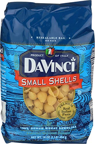 - DaVinci Small Shells, 16-ounces (Pack of12)