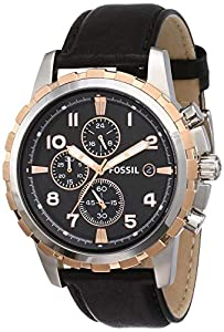 Fossil Chronograph black Men Watch FS4545