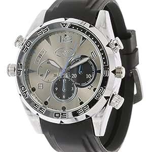 Eurosell - Full HD profesional espía reloj de pulsera con cámara oculta + 16 GB Grabador + Visión Nocturna - Top Gadget Spy Security: Amazon.es: Electrónica