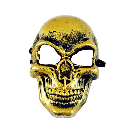 Hotcl Clearance Scary Ghost Adult Mask for Halloween,Horror Grimace Night Terror Mask Fancy Dress Party Dress (A)