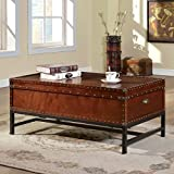 247SHOPATHOME IDF-4110C Coffee-Tables, Cherry Review