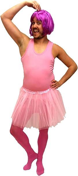 Disfraz de Bailarina Rosa - Hombre, L: Amazon.es: Ropa y accesorios
