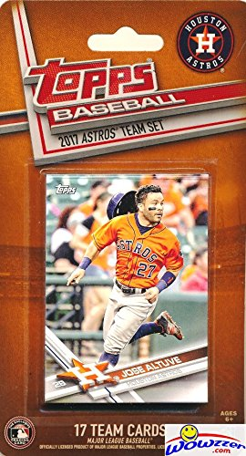 houston-astros-2017-topps-baseball-exclusive-special-limited-edition-17-card-complete-team-set-with-