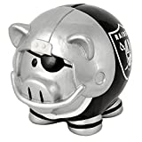 NFL Oakland Raiders Resin Large Thematic Piggy Bank