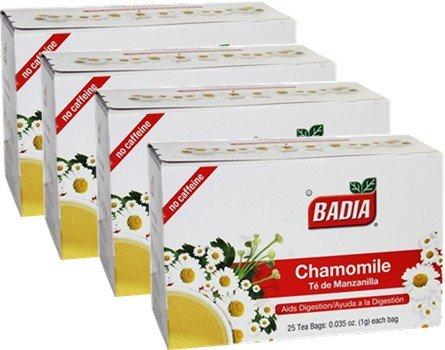 Chamomile by Badia 100 Tea bags. Manzanilla