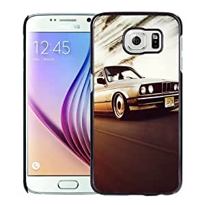 NEW Unique Custom Designed Samsung Galaxy S6 Phone Case With Old BMW 3 Series_Black Phone Case
