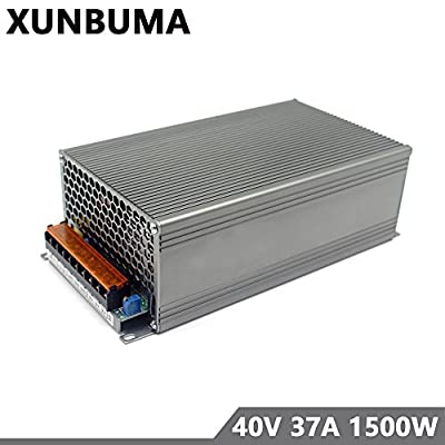 Switching Power Supply DC 40V 37A 1500w Power Adapter Driver Transformer 110V 220V AC DC15V for Led strip lamp CNC CCTV