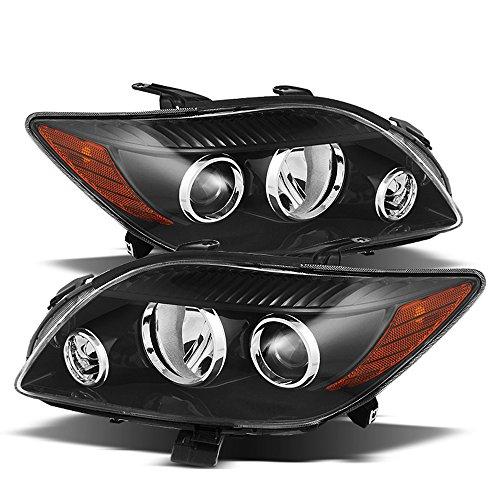 ACANII - For Black [Factory Style] 2008 2009 2010 Scion tC Headlights Headlamps Driver + Passenger Side