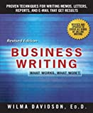 Business Writing, Wilma Davidson and John F. Dougherty, 0312109482