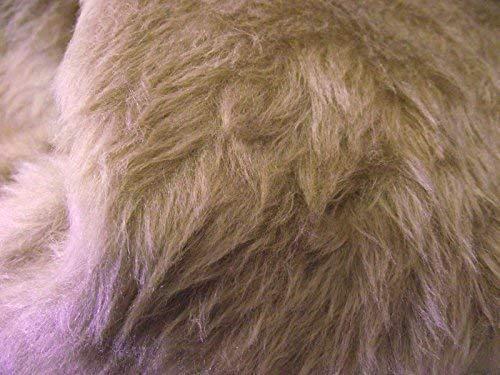 CRS Fur Fabrics Plain Fun Material de la Tela de Piel sintetica Color ma