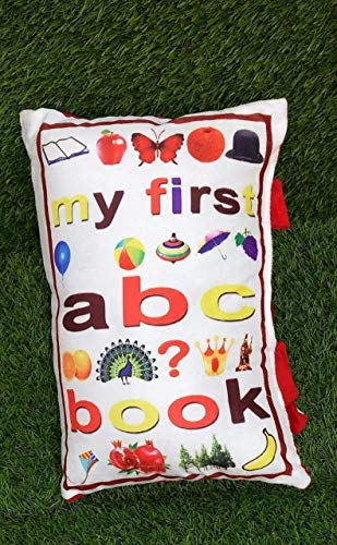 Life-style Launch Youngsters Pillow E-book for Simple Studying 100% Velvet Microfiber Crammed Cushion, Queen Dimension, Digitally Printed
