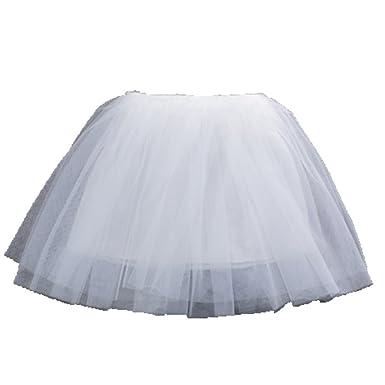 d0aa3fcd0ac7de OHmais Enfant Fille Princesse Jupe Tutu en Dentelle Demi-Jupe en ...
