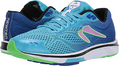 Newton Running Women's Gravity 8 Blue/Lime 9.5 B US - Newton Running Shoes