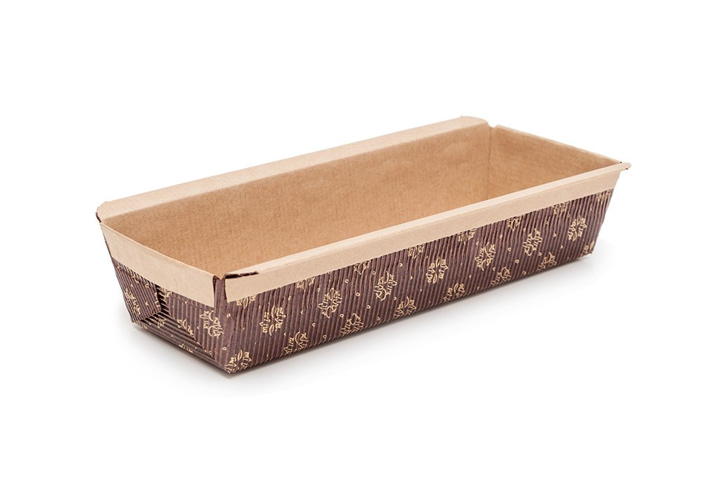 Paper Loaf Pan, 8.8-Inches x 2.75-Inches x 2.5-Inches - Set of 450