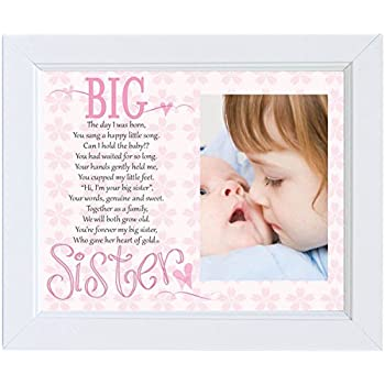 Amazon.com - Big Brother / Big Sister Poetry Gift Picture Frames ...