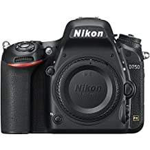 Nikon D750 24.3MP HD 1080p FX-Format Digital SLR Camera (Body)(Certified Refurbished)