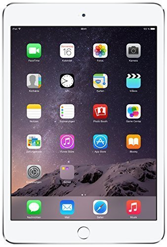 Apple iPad Mini 3 MGNV2LL/A NEWEST VERSION (16GB, Wi-Fi, Silver) (Certified Refurbished)