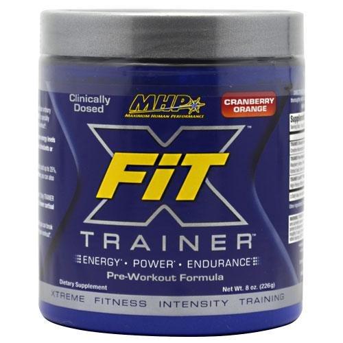 Maximum Human Performance X-Fit Trainer, Cranberry orange, 226 gram