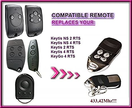 Somfy Keytis 2 RTS 2-Kanal 1841026 Funkhandsender Funksender 3660849500153