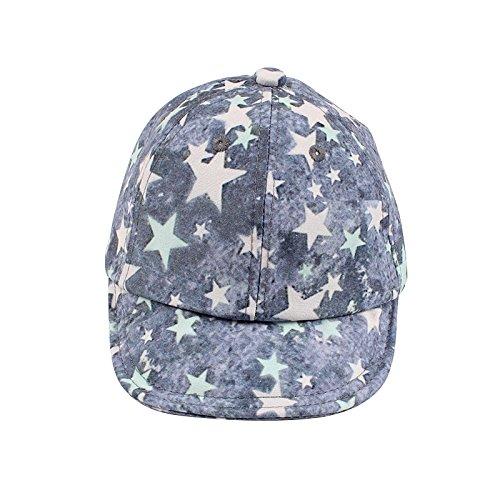 (XIAOHAWANGStar Baby Caps Retro Baseball Sun Cap Spring Summer Hats for Boy Girls (Light Gray))