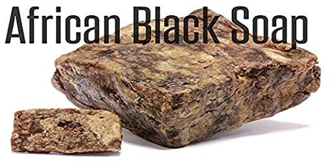 #1 Best Quality African Black Soap - 1lb (16oz) Raw Organic Soap for Acne, Dry Skin, Rashes, Scar Removal, Face & Body Wash, Authentic Beauty Bar From Ghana West Africa Incredible By - Therapy Bath 1 Lb Powder