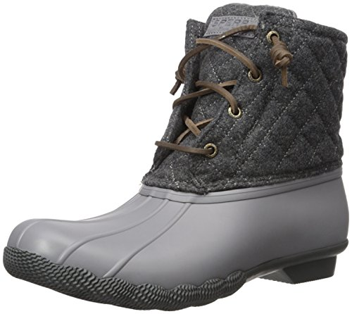 Sperry Top-Sider Womens Saltwater Quilted Wool Rain Boot
