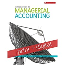 Introduction to Managerial Accounting with Connect with SmartBook COMBO