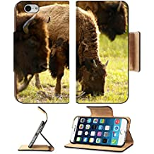 Liili Premium Apple iPhone 6 iPhone 6S Aluminum Snap Case Yellowstone American Bison Yellowstone National Park Wildlife Wild Animals Photo Collection IMAGE ID 14701097