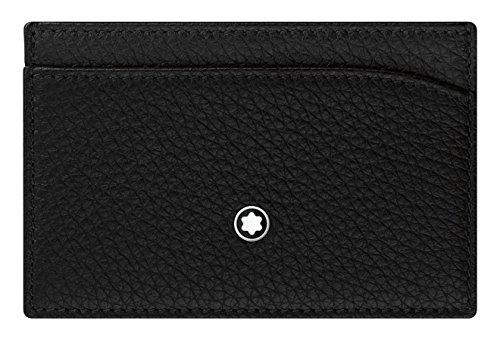 Men's Black 3 Pocket Meisterstuck Holder Wallet Montblanc Cc Leather qAw8qd