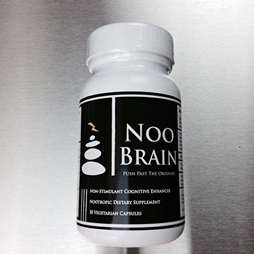NOO BRAIN - Potent Nootropic Supplement Stack (with Mucuna, Huperzine A, Alpha GPC, Vinpocetine)