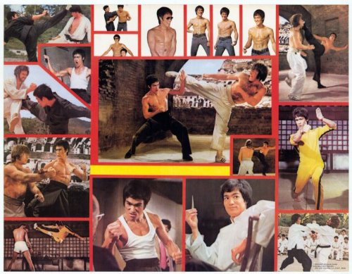 (Bruce Lee - Movie Poster - 11 x 14)