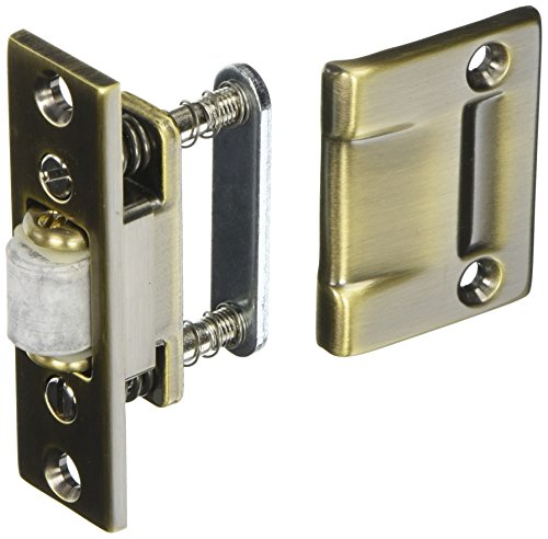 Baldwin 0430050 Roller Latch, Antique Brass