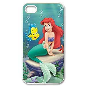 Disney Ariel The Little Mermaid iPhone 4/4S Fancy Plastic Colorful Case by icecream design