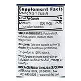 Twinlab Sodium Selenite - 250 mcg - 100 Capsules