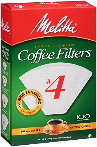 melitta 4 cup coffee filters - 2